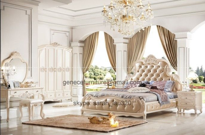 Antique Bedroom Designs French Luxury Bedding Ensembles  Bed Frame Antique Villa