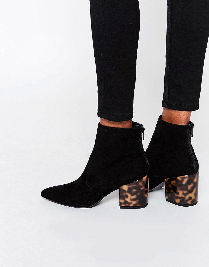 5806a995f895 Bild 1 von ASOS – REACH – Spitze Ankle Boots   Mode   Pinterest   Stil
