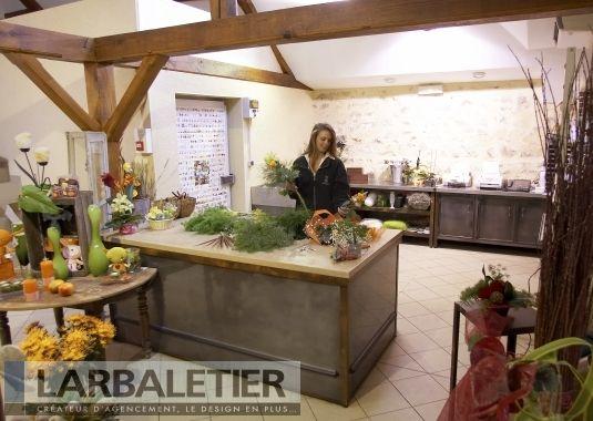 Mobilier de magasin comptoir d 39 emballage atelier - Le comptoir des fleuristes ...