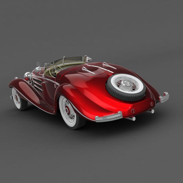 1936 Mercedes-Benz 540 K Sport Cabriolet A