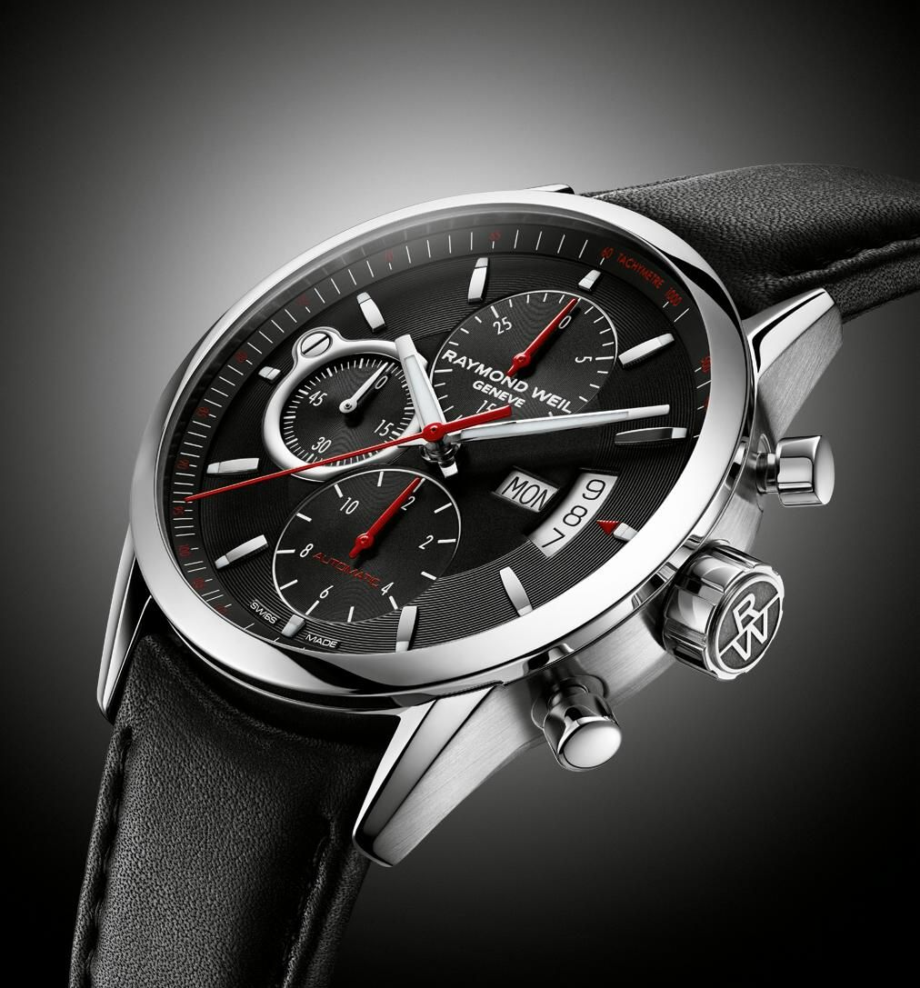 Industry News Basel 2013 Raymond Weil Freelancer Simply Class Chronograph Watches For Men Cool Watches Raymond Weil Watches