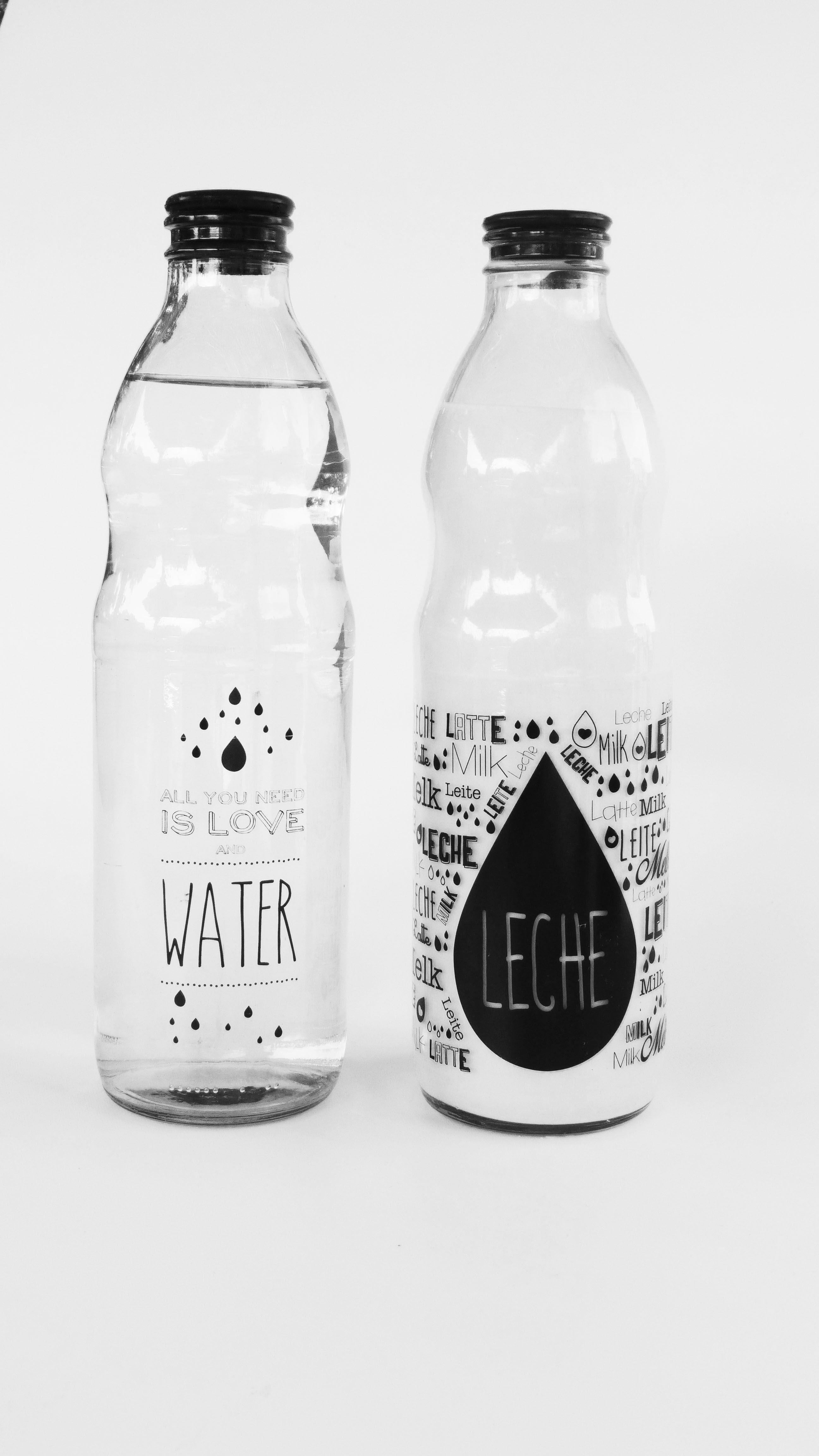 Botellas De Vidrio De 1 Litro Impresas Con Disenos Exclusivos Botellas De Vidrio Decoradas Tazas De Vidrio Botellas De Vidrio