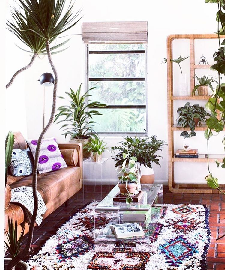 It's >>ALWAYS<< a good idea to bring the #outdoors in #LOVIN the #life & #vibes these beautiful plants || #succulents || & #cactus bring into this space  And this #BOHO #gem of a rug?? #yesplease  #bohodecor #bohovibes #bohostyle #bohemian #textile #design #interiordesign #interiorstyle #interiordecor #jungalowstyle #texture #succulent #succulentlove #finditstyleit #interiors #jungalow #travel #bungalow #apartmenttherapy #inspo #homeandgarden