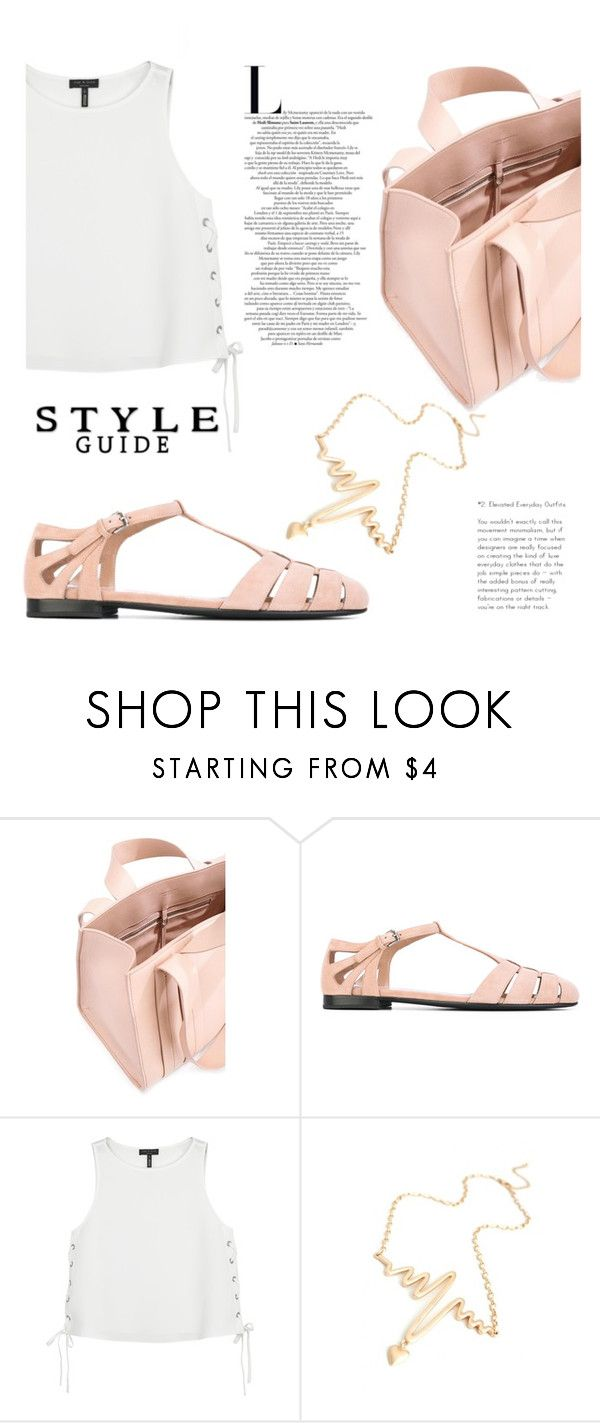 """""""Just the Style"""" by sweet-jolly-looks ❤ liked on Polyvore featuring Corto Moltedo, Church's, rag & bone, casual, simple, shoes and handbag"""