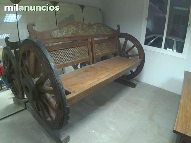 carretillas de madera antiguas - Buscar con Google