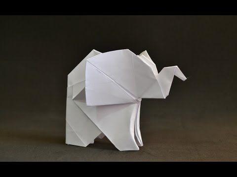 Origami Elephantamazing Paper Elephant Making Step By Steporigami