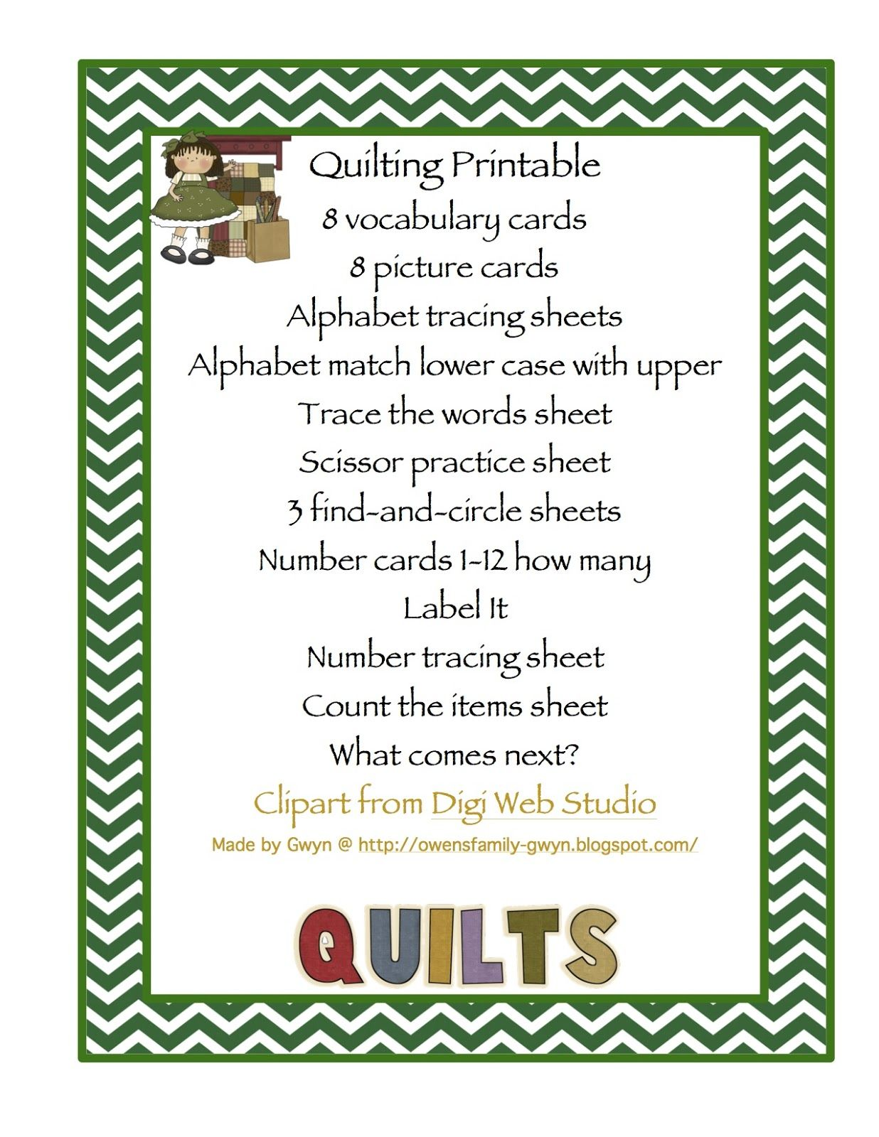 Q Is For Quilt We Were Looking For A Theme For This