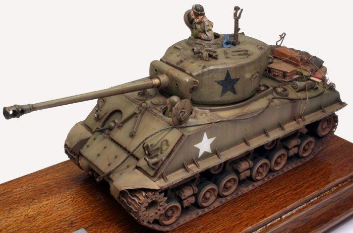 M4A3E8 Sherman by John van Hooijdonk (Dragon 1/35) | 1/35