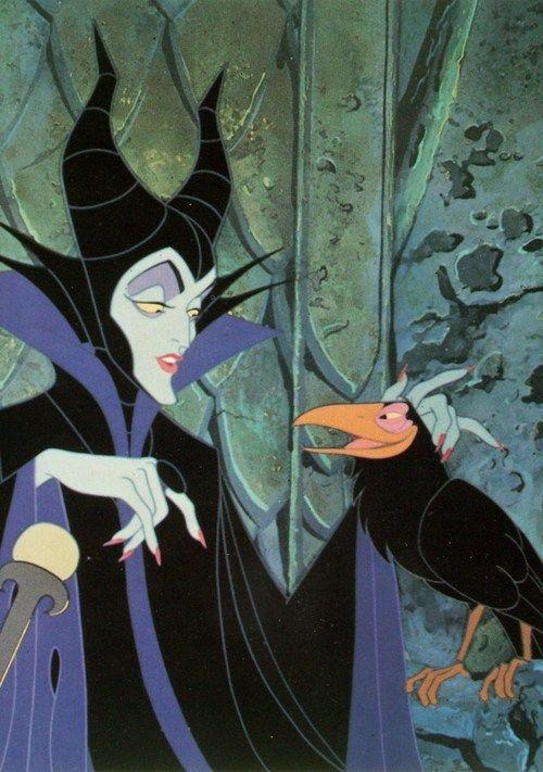 MALEFICENT & DIABLO ~ Sleeping Beauty (1959) | SLEEPING BEAUTY, 1959