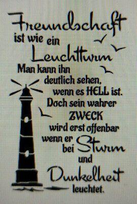 Shabby Schablone Mobel Wand Stoff Farbe Holz Schild Spruch Freunde Sterne Zitat Eur 8 50 In 2020 Spruche Lebensweisheiten Spruche Nachdenkliche Spruche