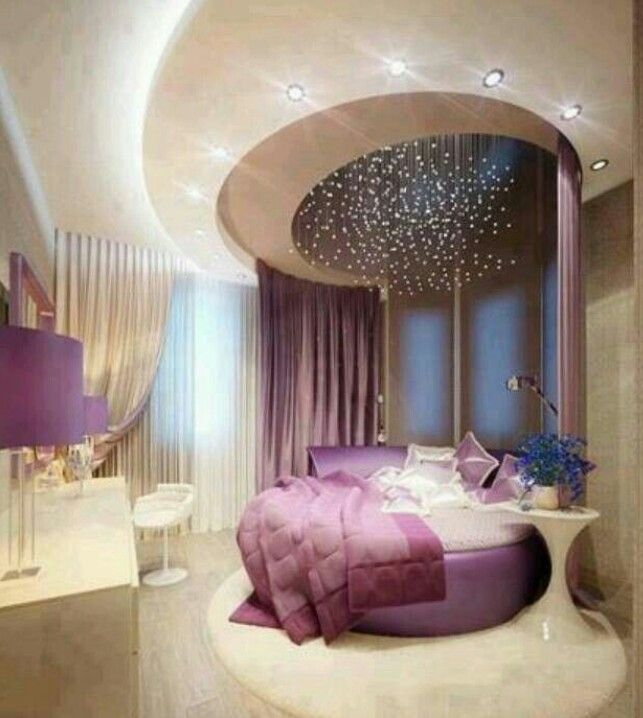 Cute Purple Bedroom