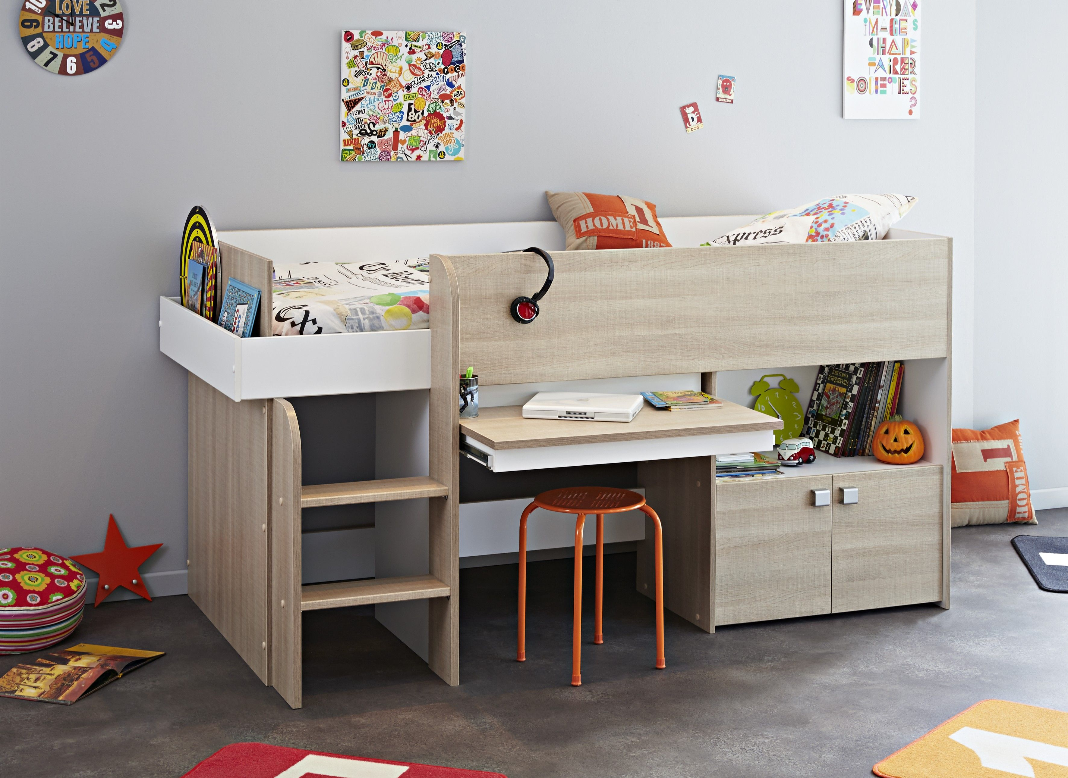 bunk frame about bedroom cabins beds julian cabin domino mattresses bowen furniture