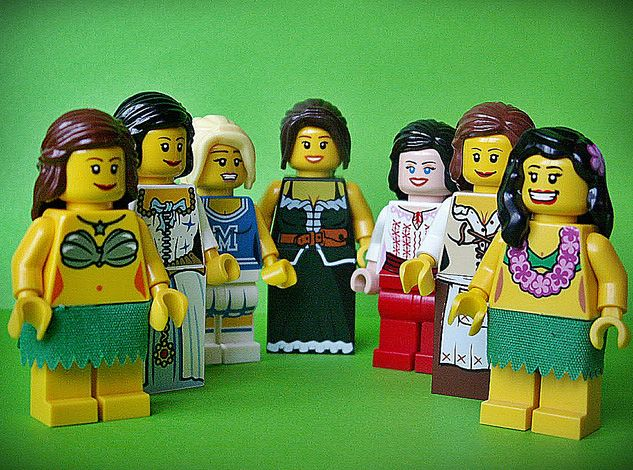 Sexy naked lego girls, blonde ish pictures