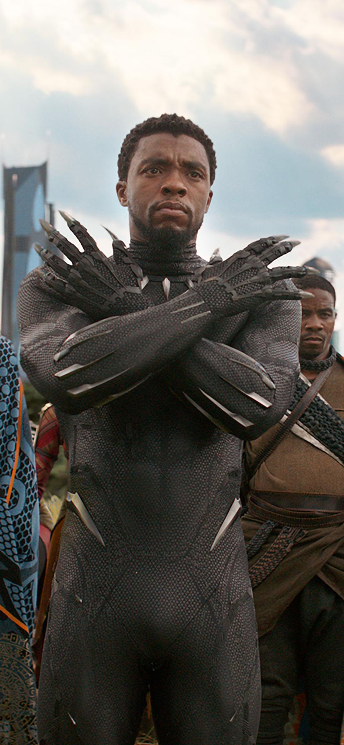 1125x2436 Black Panther In Avengers Infinity War 2018 Iphone Xs Iphone 10 Iphone X Hd 4k Wallpapers Images Backgro Black Panther Marvel Black Panther Panther