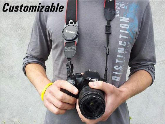 Lens Cap Holder (customizable)