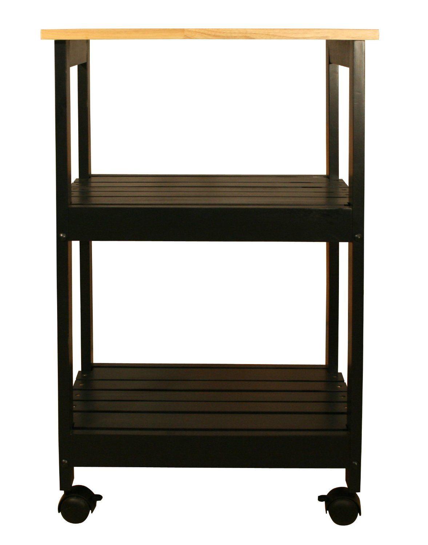 Amazon Kitchen Cart Cabinets Michigan Catskill Craftsmen Utility Black