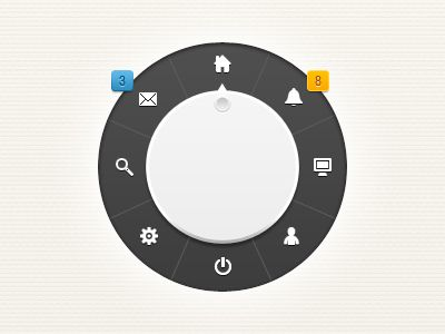 I really like circle navigation patterns. Perfect for touch and stylus especially if you have fly outs for sub selects