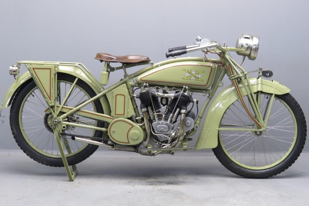 Excelsior 1917 1000cc 2 Cyl Ioe 2704 Yesterdays Antique Motorcycles Excelsior Motorcycle Bicycle Painting