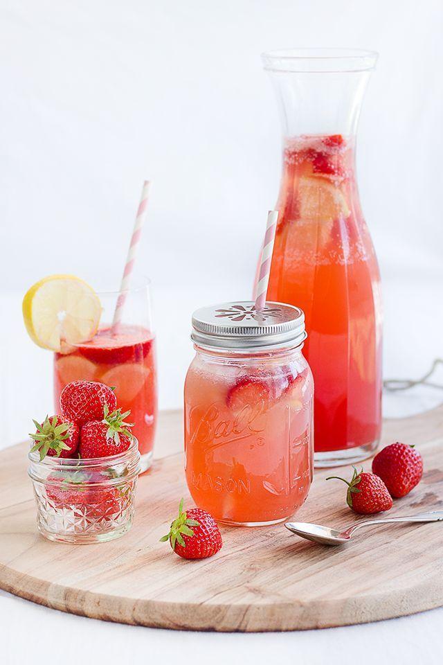 Erdbeer-Melonen-Limonade • Maras Wunderland
