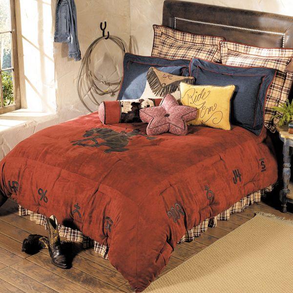 11 Of 12 Top Boys Bedding Designs Wrangler Cowboy Bedding Western Bedding Cowboy Room Southwestern Home Decor