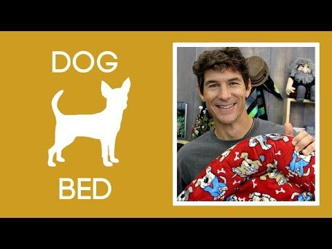 Make a Cozy Dog Bed with Shannon Cuddle Fabric - YouTube | vidioos ...