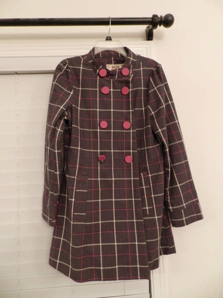 Zumiez Plaid Coat in MissEsas Garage Sale in Warrenville , IL for $25. Never worn, no tags Size L 25