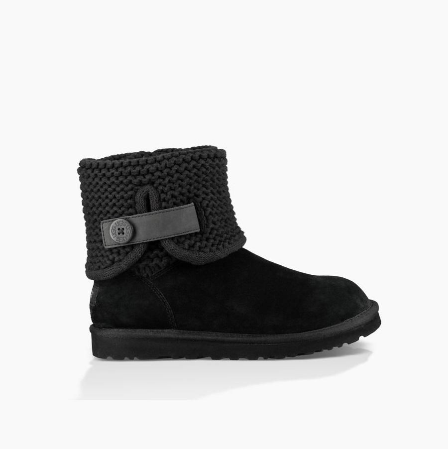 f0132e0cd42 UGG Women's Shaina (Black) in 2019   hair and fashion   Uggs ...