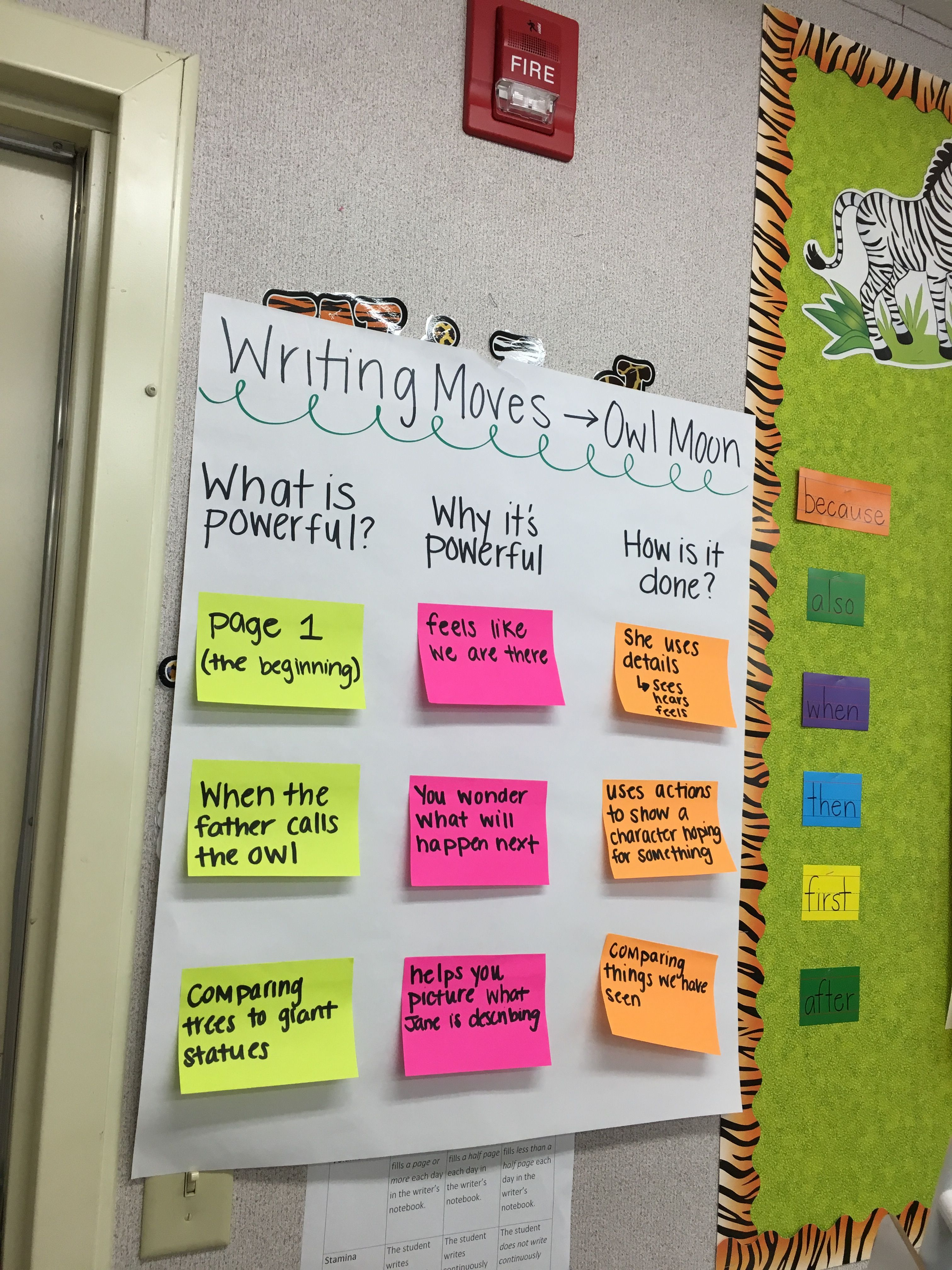 Mentor Text Study Owl Moon With Images