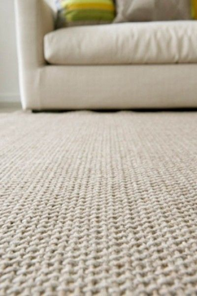 New Extra Large Mat 100 Wool The Rug Collection Crossweave 2 0m X 9m Oatmeal
