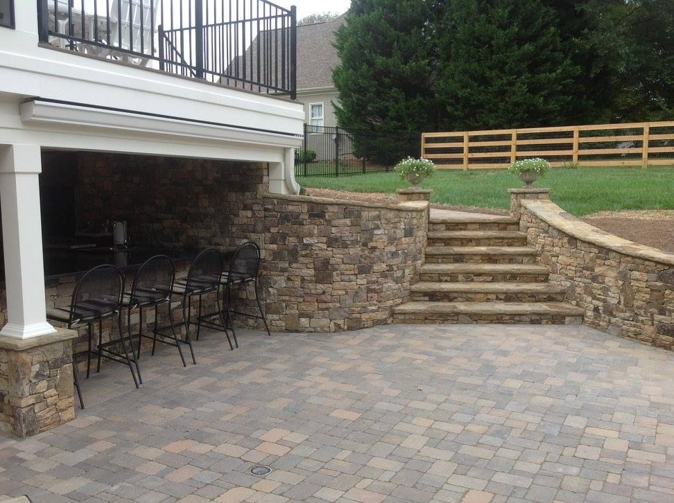 Stone U0026 Paver Patios   Atlanta Porch U0026 Patio