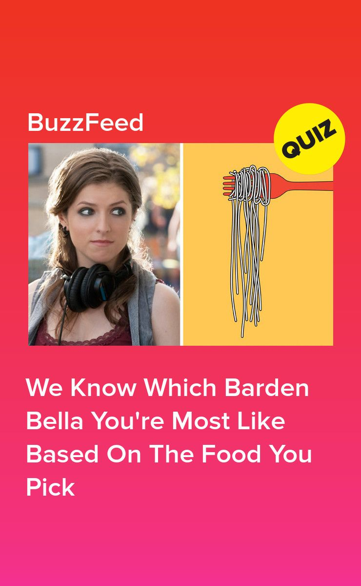 Pick some food to eat and well reveal which barden bella
