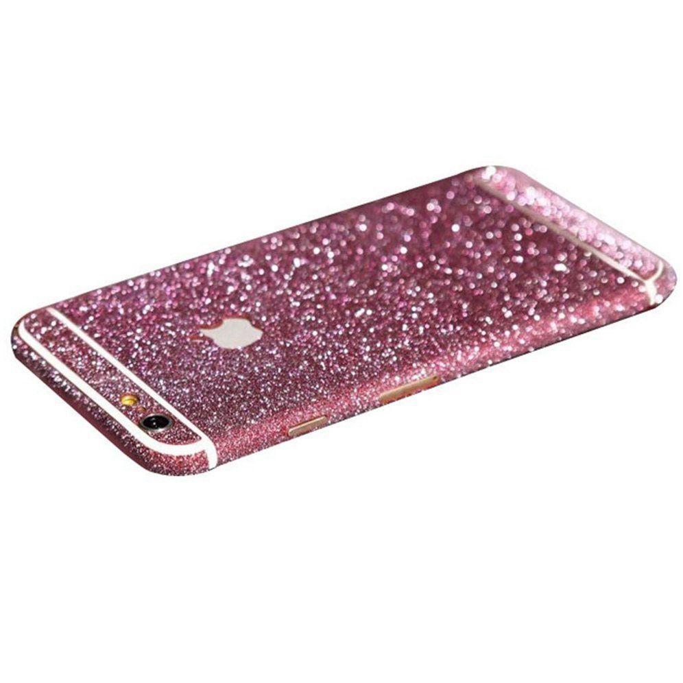 Rose Glittery Iphone 6 Plus 6s Plus Full Body Sticker Wrap Retailite Body Stickers Iphone Glitter Decal