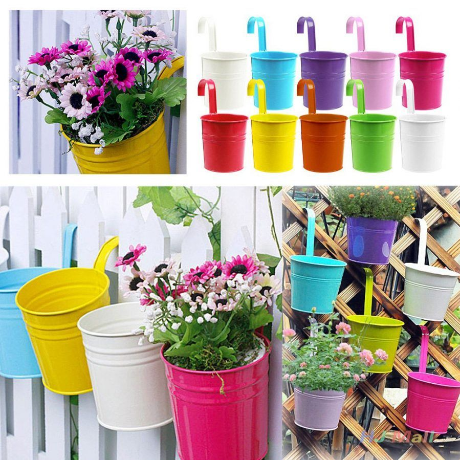Superb Wall Mounted Flower Pot Holder Aeproductgetsubject Pot Ideas