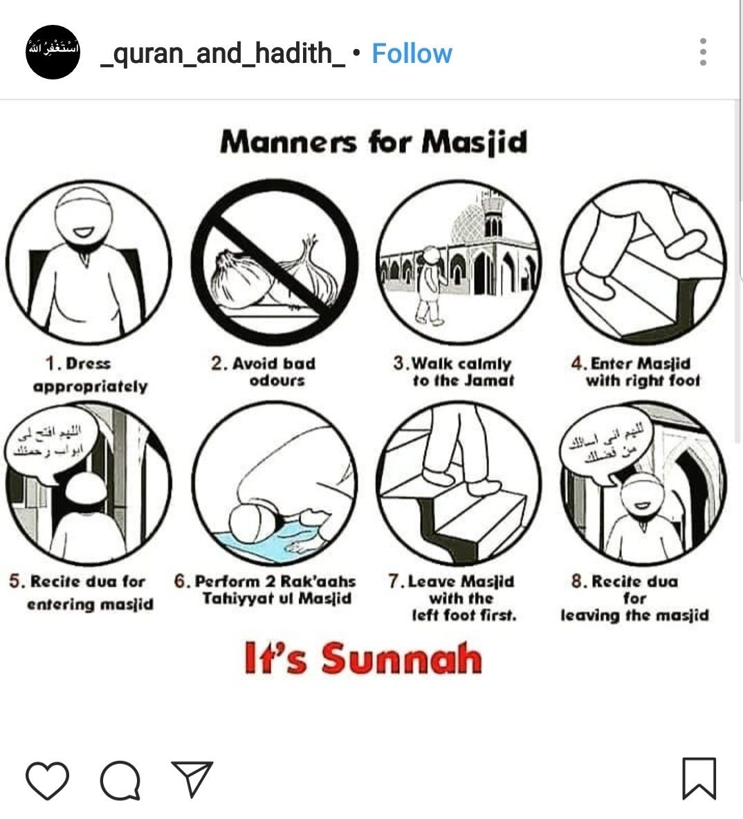 Manners For Masjid