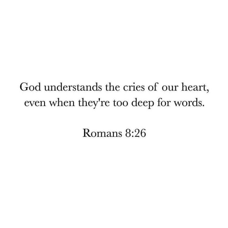"""He hears you cries. """"When You Don't Know What To Do"""""""