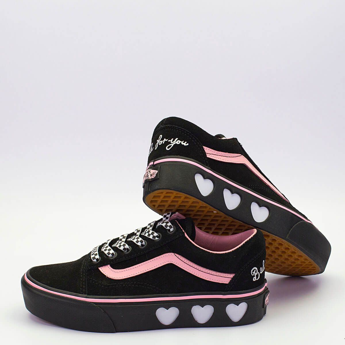 VANS X LAZY OAF OLD SKOOL PLATFORM ΜΑΥΡΟ | Shoes in 2019