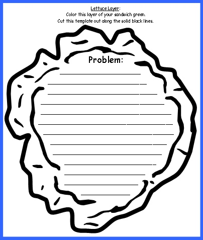 Sandwich Book Report Printable Template 3 Professional Templates Book Report Projects Book Report Book Report Templates
