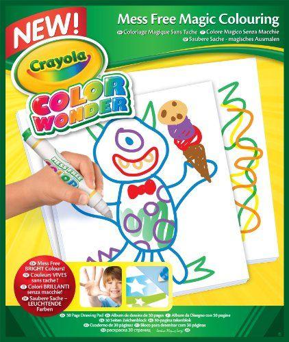 Crayola Color Wonder Mess Free Coloring Pad Refill Paper 30