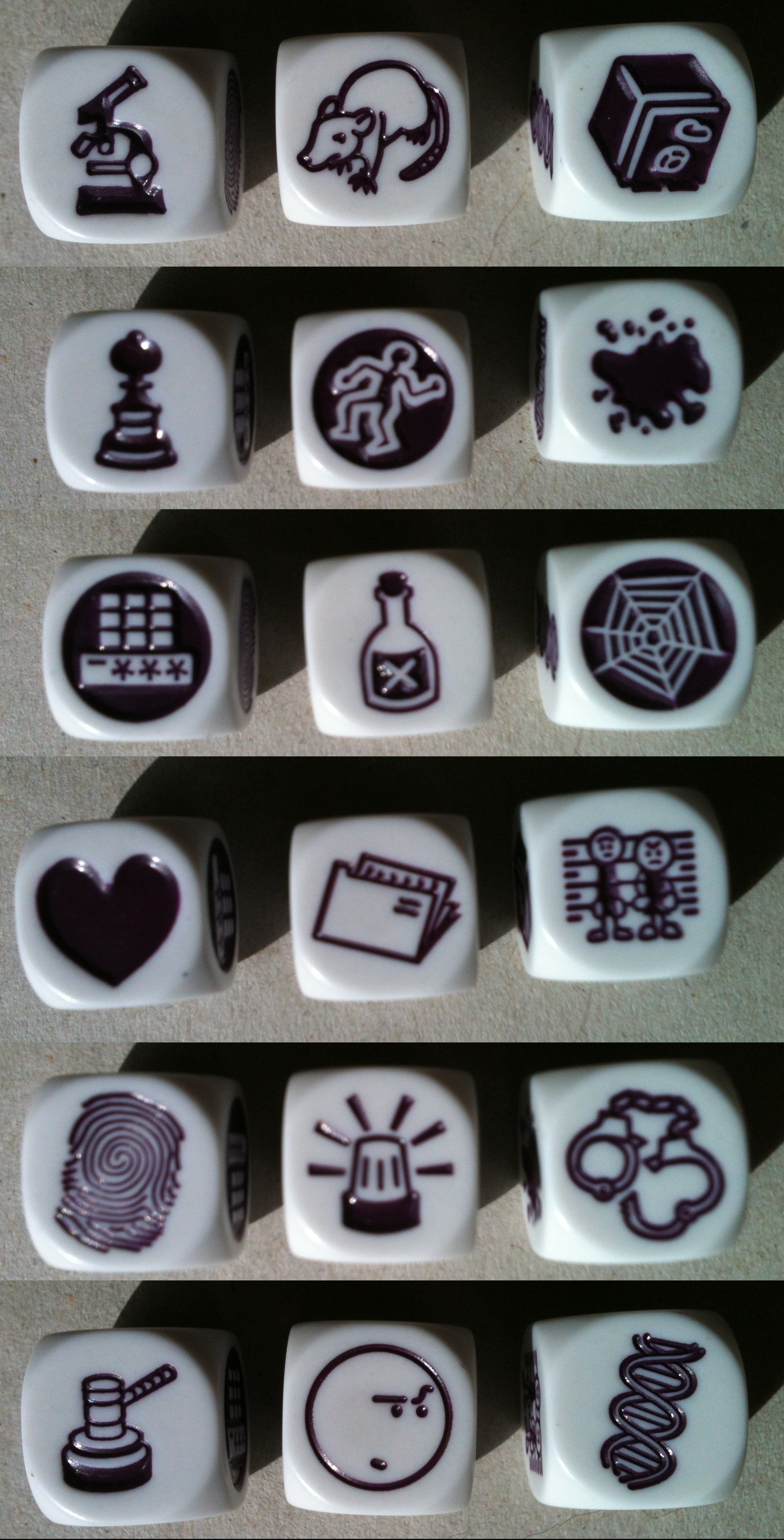Rory S Story Cubes Clues
