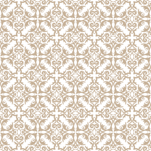 Pattern Wallpaper Baroque Damask Seamless Vector Background