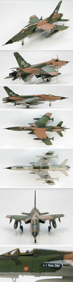 F 105d Thunderchief 1 72 Die Cast Model Model Airplanes Aircraft Modeling Model Hobbies