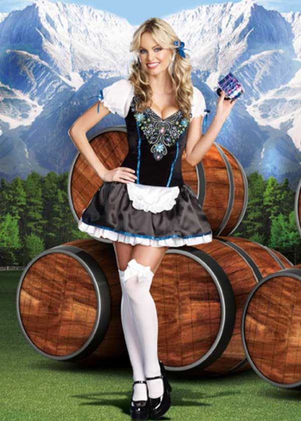 Sexy beer wench costume for Halloween light up beer mug  sc 1 st  Pinterest & Sexy beer wench costume for Halloween light up beer mug | Halloween ...