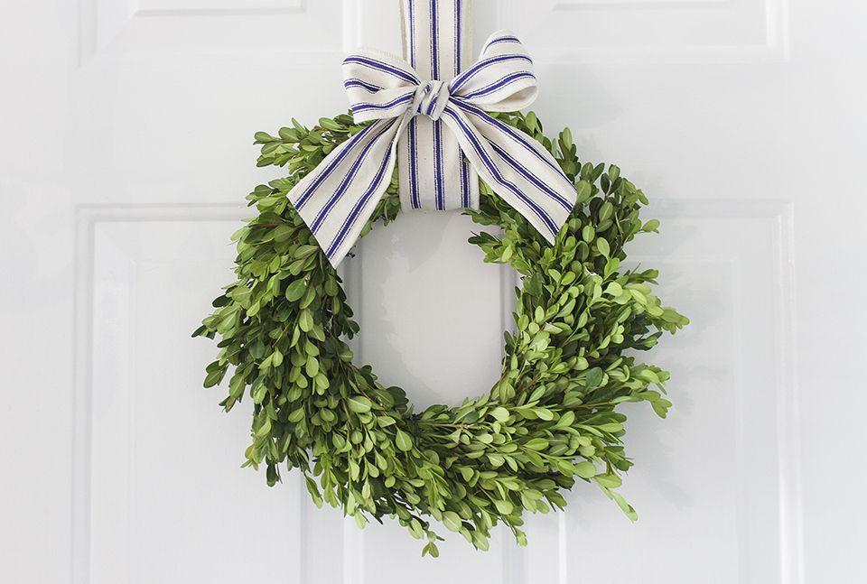 9 Ways To Use A Boxwood Wreath Tutorial Boxwood Wreath