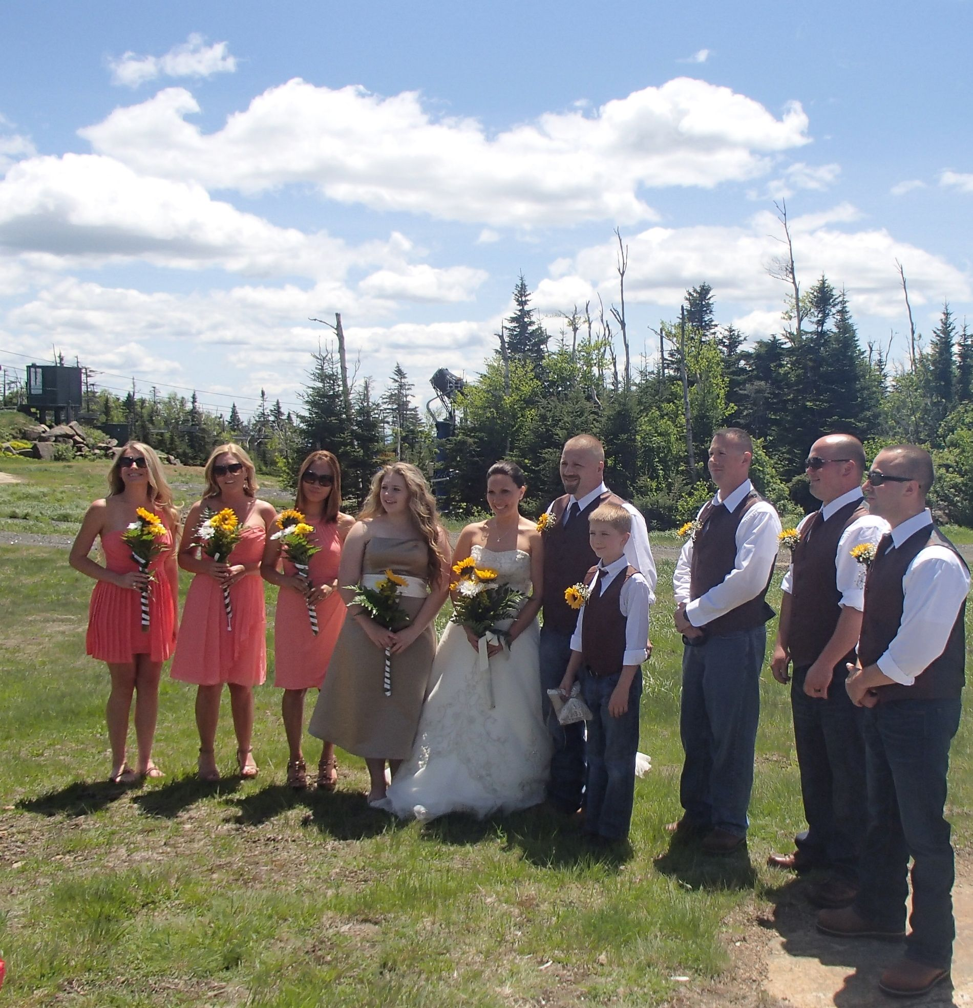 Adirondack Wedding on Gore Mountain (With images