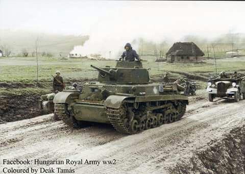 Hungarian Turán tank in 1944