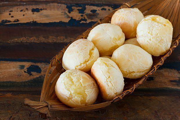 Pão de queijo - brasilianische Käsebrot-Bällchen