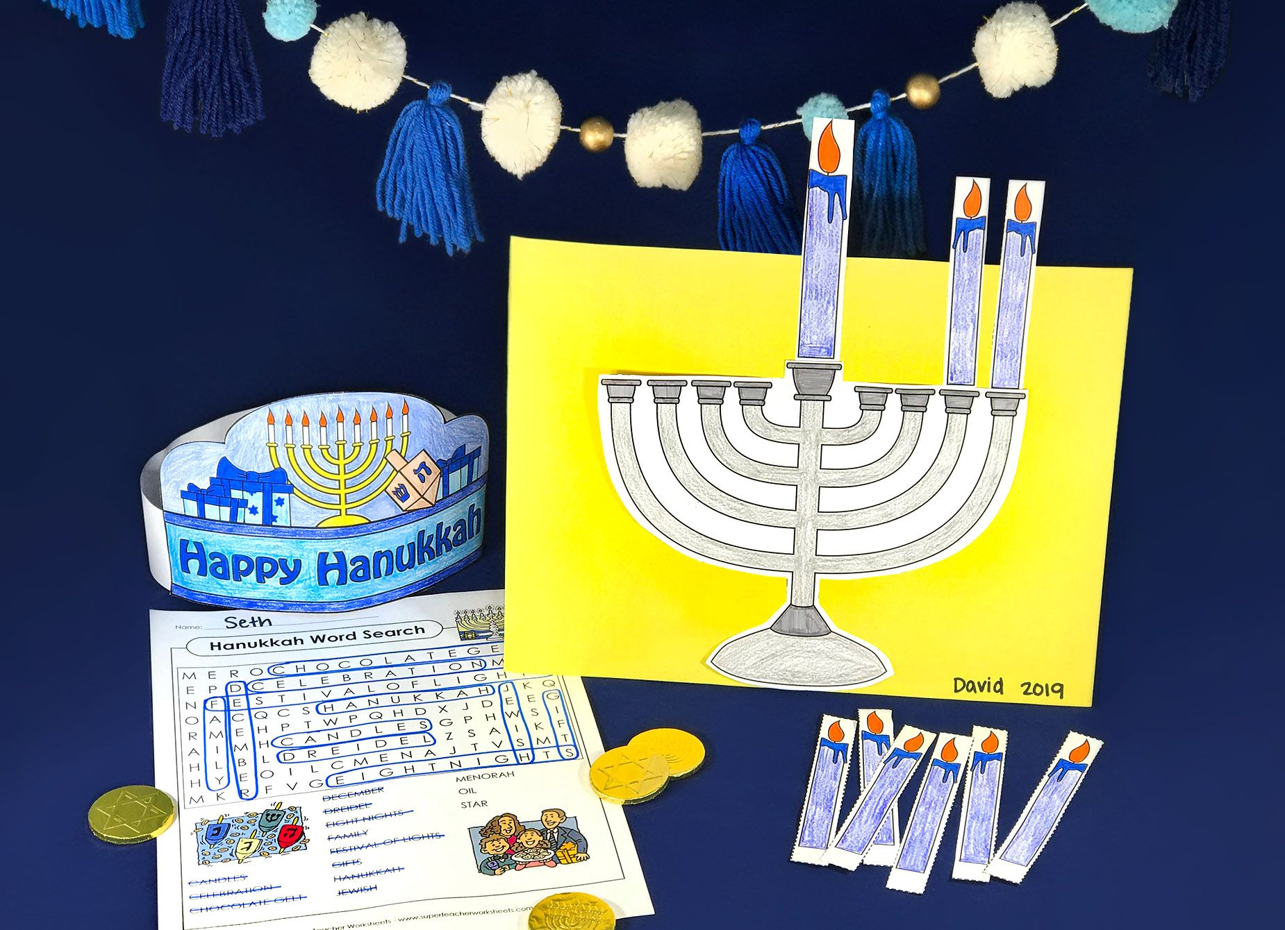 Need Some Hanukkah Printables Superteacherworksheets