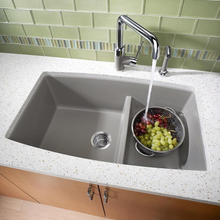 Blanco Performa 1 3 4 Medium Bowl Granite Composite Sink In