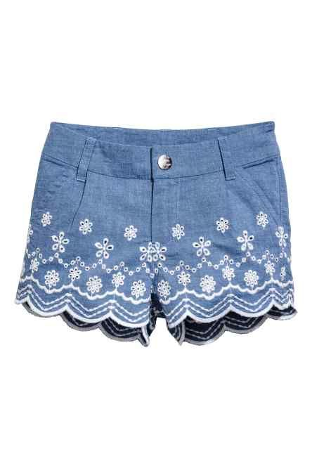 7b33d3439 Pantalón corto de algodón | Sewing patterns | Pantalones cortos de ...
