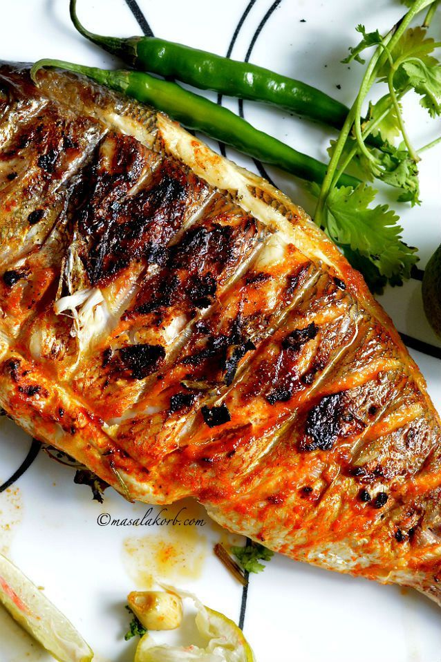Grilled Fish Indian Recipe Spicy Grilled Fish Indian Style
